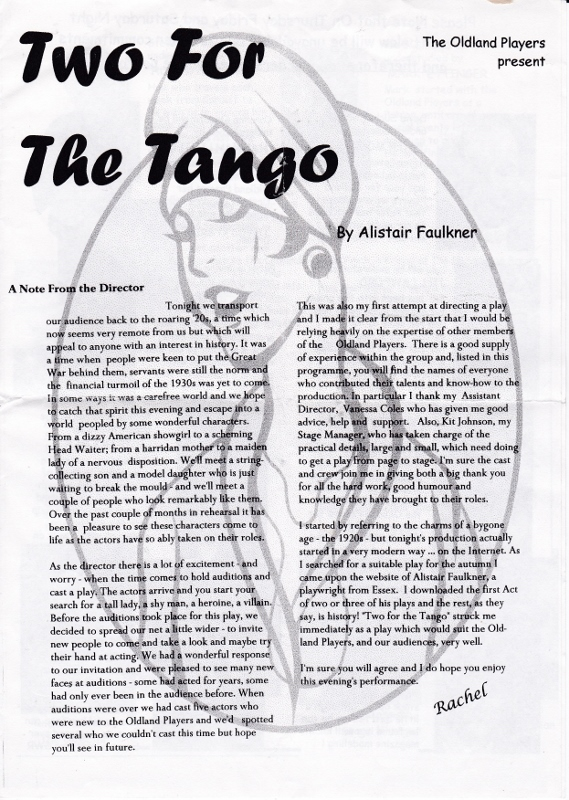 Two for the Tango