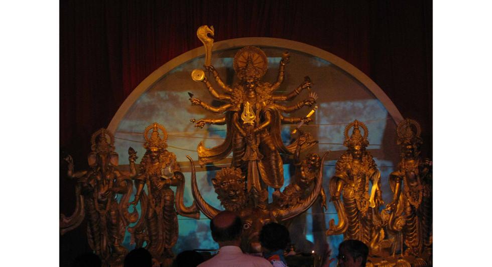 Scenography: Durga Puja