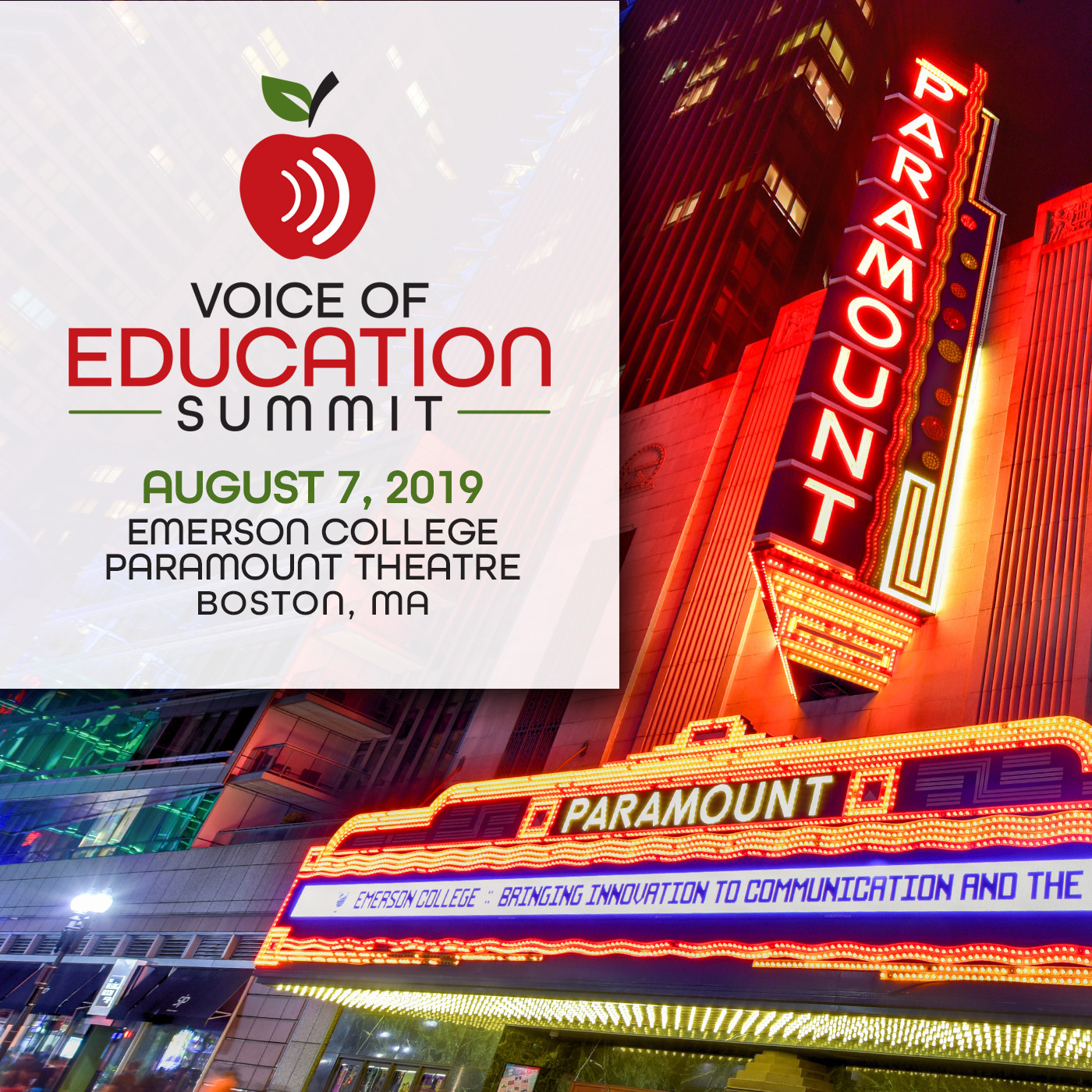The Voice of Education Summit