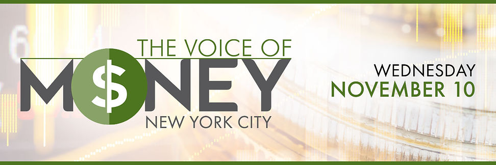 The Voice of Money (Wed Nov 10 - NYC) 15
