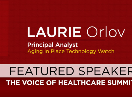 Voice of Healthcare Summit speaker Laurie Orlov featured in article