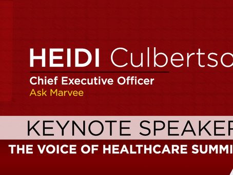 Healthcare prominently mentioned in recent HBR article on voice strategy