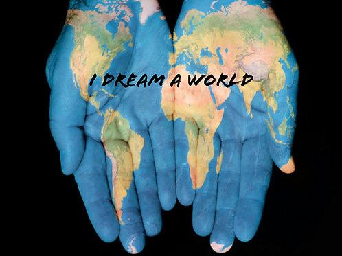 I Dream A World for solo voice and piano