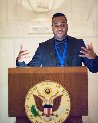 Damien Sneed Receives the 2014 Sphinx Medal of Excellence Honor with Events at the Kennedy Center an