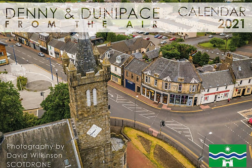 Denny & Dunipace from the Air 2021 Calendar