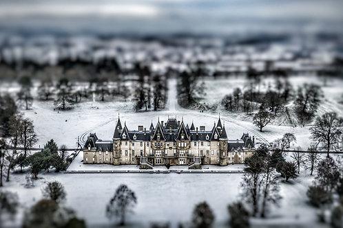 Callendar House winter tilt shift