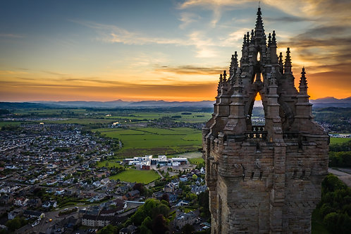 Wallace Monument Sunset