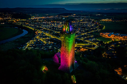 Wallace Monument Rainbow