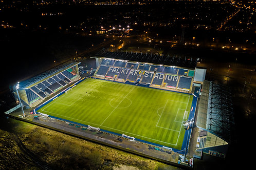 Falkirk Stadium at night 1