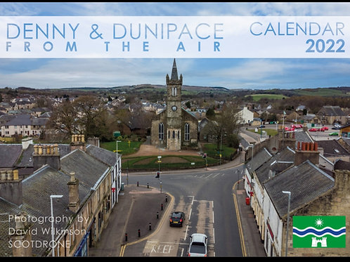 Denny & Dunipace from the Air 2022 Calendar
