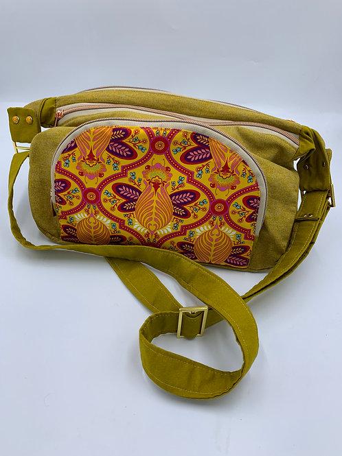Packed Messenger bag!