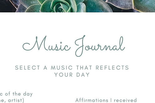 Guided Music Journal
