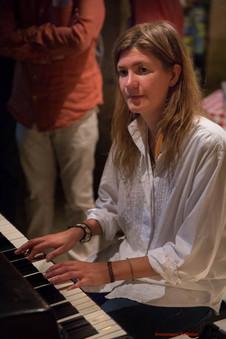Isabel Sörling à la jam session