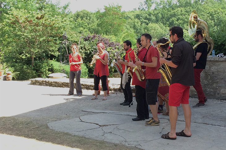 fanfare Respire Jazz festival