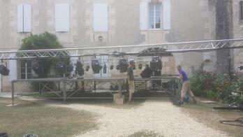On bosse dans les jardins de Puypéroux