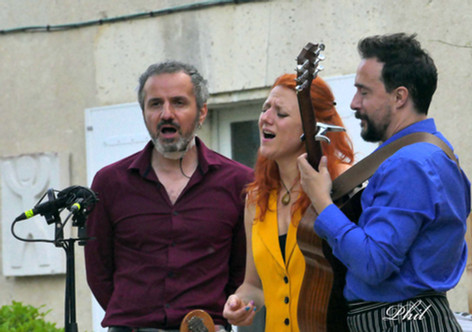 Leïla Martial, Eric Perez, Pierre Tereygeol