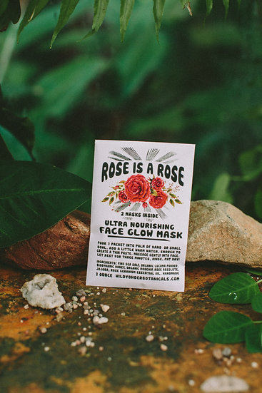 Rose is a Rose Face Scrub Glow
