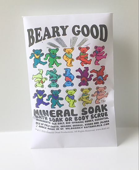 Beary Good Mineral Soak / Scrub