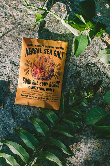 Meditative Drift Herbal Salt Soak Scrub