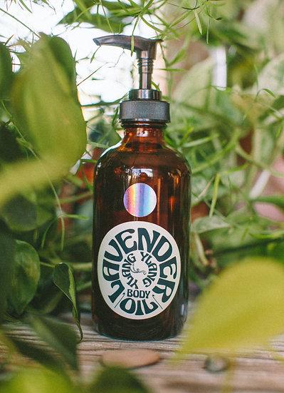 Lavender and Ylang Ylang Body Oil