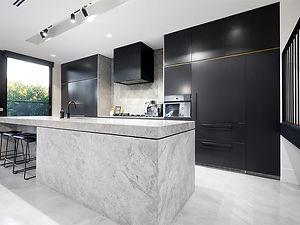 new kitchen cabinets & refinishing renovation