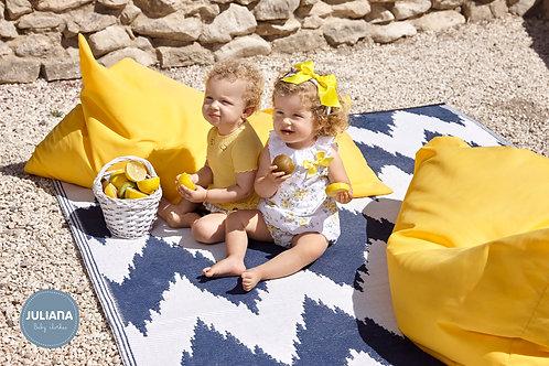 Daphne 2pc Lemon Floral set