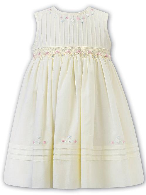 Mara Lemon Smock Dress