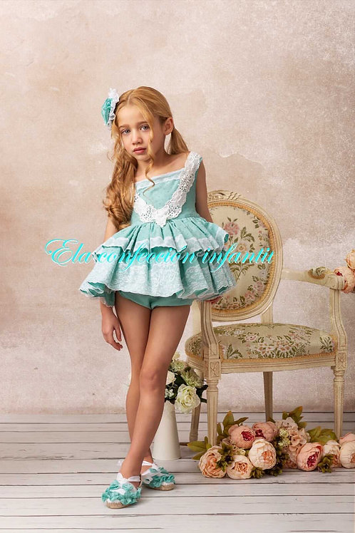 Juliette Green ELA Dress