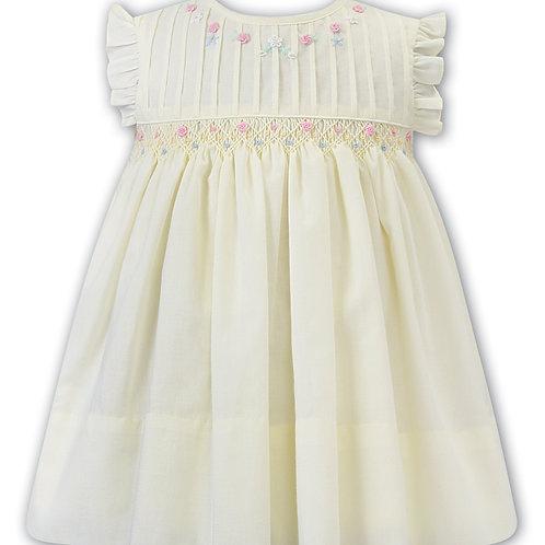 Lila Lemon Smock Dress
