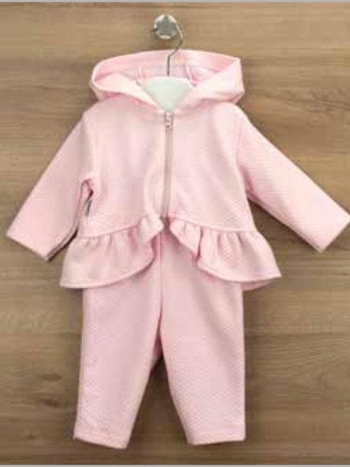 Babidu Pink Hooded Tracksuit