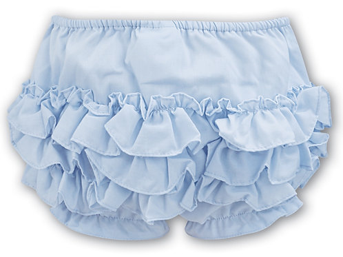 Sarah Louise Pale blue Frilly Knickers