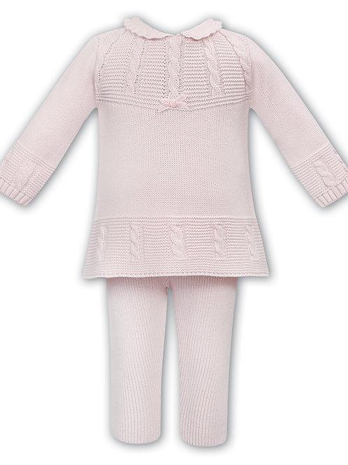 Zoe Sarah Louise Pink Knit set