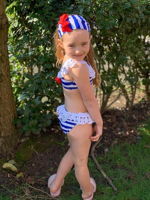 Girls Marinera striped bikini