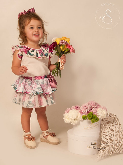 Calida Sonata 2pc floral set