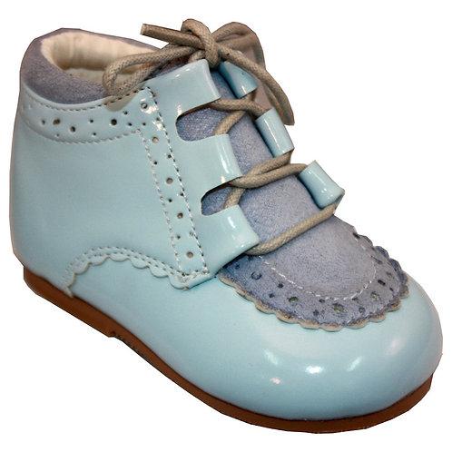 Sevva boys patent boots