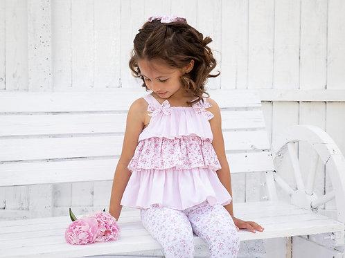 Pink RaRa Leggings set
