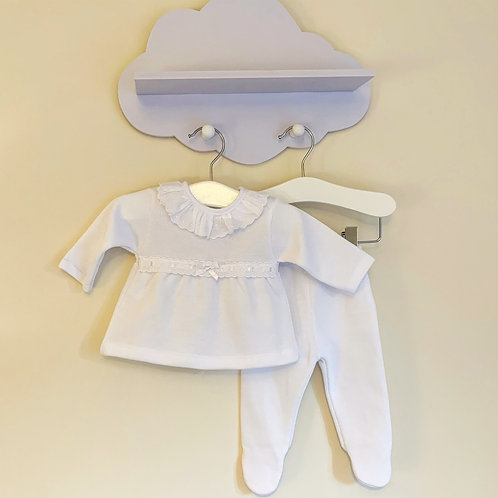 White 2pc set