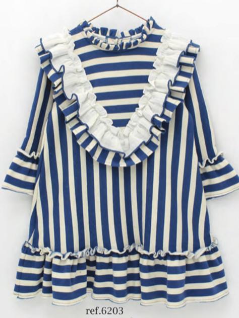 Daria Block Stripe Dress