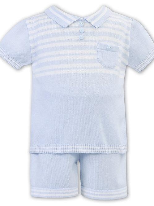Rex Sarah Louise Knit Shorts set