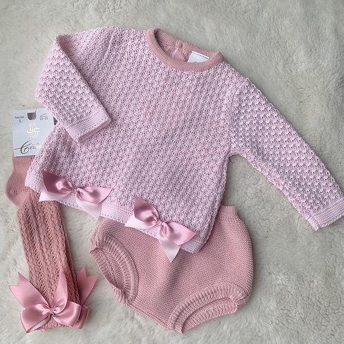 Isla 2pc Duskt Pink set