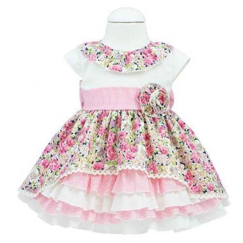 Kiriki Spanish Floral Ruffle Dress