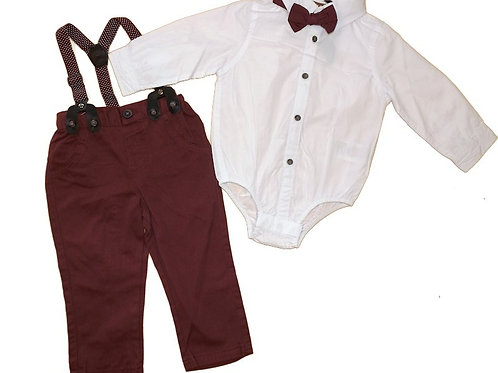 Little Gent 2pc Dickie bow set