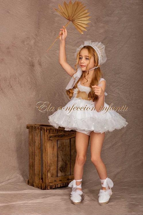 Stella White ELA Dress