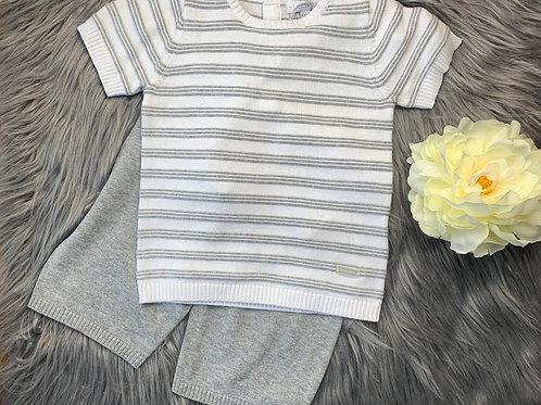 Milo grey 2pc knit set