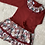 Thumbnail: Matilda Floral Red Dress