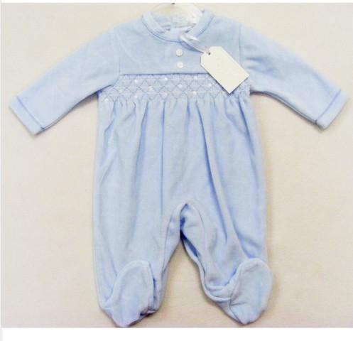 5434bb52b1b9 Super Cute Sky Blue ZipZap Baby Boys sleep suit.