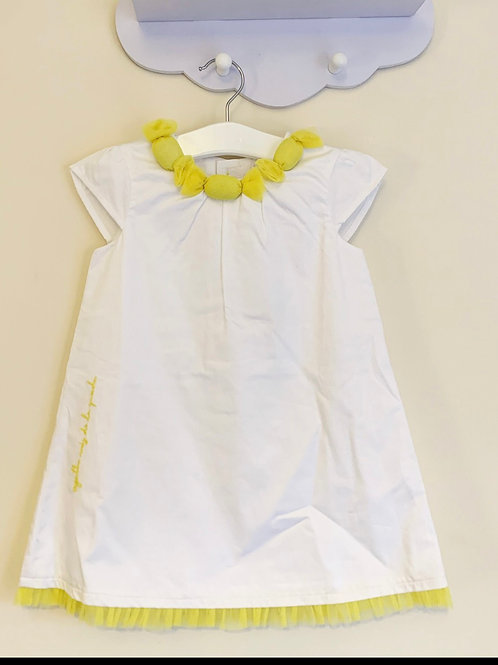 Agtha Ruiz De La Prada White & Yellow dress