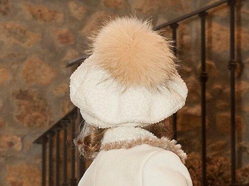 Sonata beret with large Pom