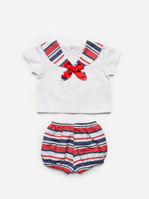 Lawrence 2pc Stripe Set