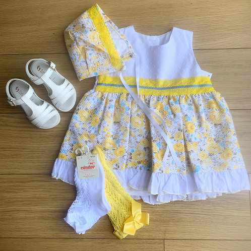 Lilly yellow dress